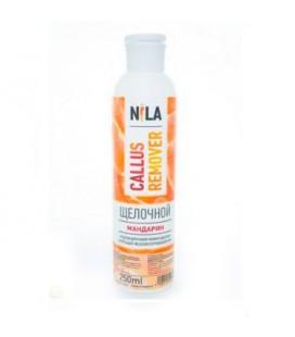 Щелочной пилинг для педикюра NILA (мандарин) 250 мл