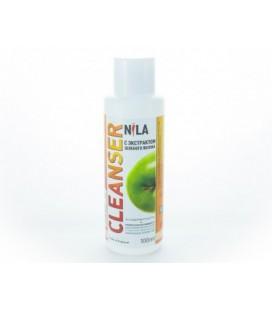 Жидкость для снятия липкого слоя Nila Cleanser (зеленое яблоко) 100 мл