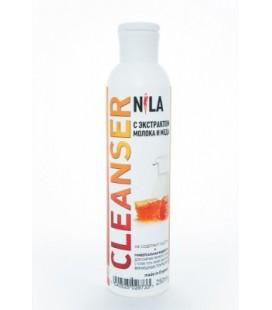 Жидкость для снятия липкого слоя Nila Cleanser (молоко и мед) 250 мл