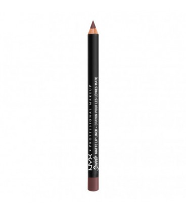 NYX Матовый карандаш для губ Suede Matte Lip Liner №38 (Toulouse)
