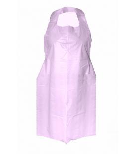Фартук одноразовый (розовый) 20 шт