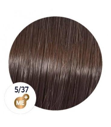 Краска для волос 5/37 Wella Koleston ME+ Светло-коричневый золотисто-коричневый 60 мл