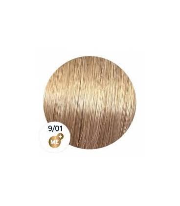 Краска для волос 9/01 Wella Koleston ME+ Яркий блондин натуральный пепельный 60 мл