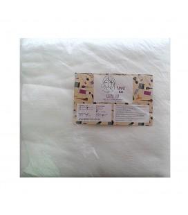 Одноразовые салфетки  гладкие 20х20 Panni 100 шт