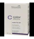 Средство для удаления краски полуперманентной краски с волос Nouvelle Color Fix Kit 60+90 мл