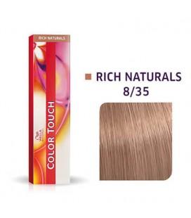 Краска для волос 8/35 Wella Color Touch Светлый блондин золотисто-розовый 60 мл