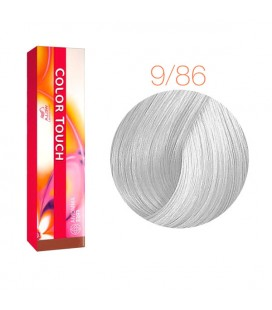 Краска для волос 9/86 Wella Color Touch Яркий блондин жемчужно-фиолетовый 60 мл
