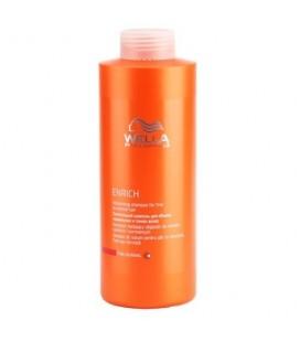 Шампунь Wellа питательный для придания объема тонким и нормальным волосам 1000 мл.