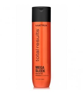 Шампунь для непослушных волос и защиты от влаги Matrix Total results Mega Sleek 300 мл