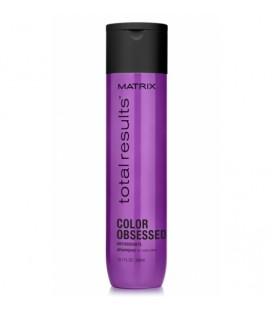 Шампунь для защиты цвета и блеска Matrix Total results Color Obsesed 300 мл