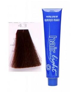 4.3 Крем-краска Hair Light (каштановый золотистый) 100 мл