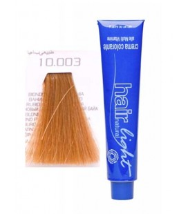 10.003 Крем-краска Hair Light (платиновый блондин натуральный баийа) 100 мл