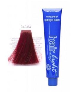5.56 Крем-краска Hair Light (светло-каштановый красный венецианский) 100 мл