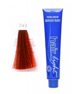 7.43 Крем-краска Hair Light (русый медный золотистый) 100 мл