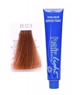 8.03 Крем-краска Hair Light (светло-русый натуральный яркий) 100 мл