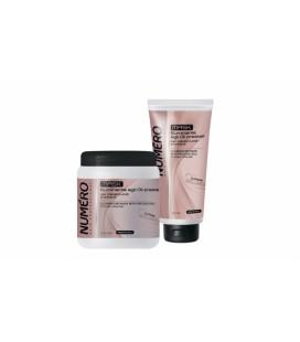 Маска для блеска волос на основе ценных масел Brelil Numero 300 мл