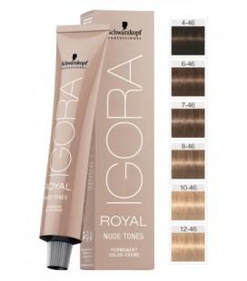 Перманентная краска 12-46 Igora Royal Nude Специальный блондин бежевый шоколадный 60 мл
