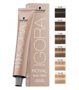 Перманентная краска 10-46 Igora Royal Nude Ультра блондин бежевый шоколадный 60 мл