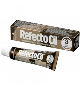 RefectoCil №3 Натурально-коричневая - краска для бровей и ресниц 15 мл