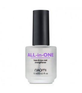 Универсальное покрытие 3 в1 Naomi All-in-One 15 мл