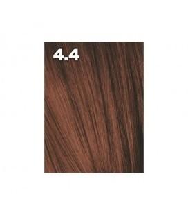 Крем-краска для волос 4/04 Indola Средне-коричневый натуральный медный 60 мл