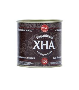 ХНА для биотату и бровей коричневая 15 г VIVA Henna