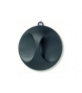 3011985 Зеркало Comair Ø25 см черное матовое