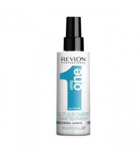 Спрей-уход несмываемый с ароматом лотоса Revlon Uniq One All in One 150 мл