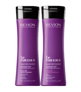Шампунь с кератином Revlon Be Fabulous 250 мл