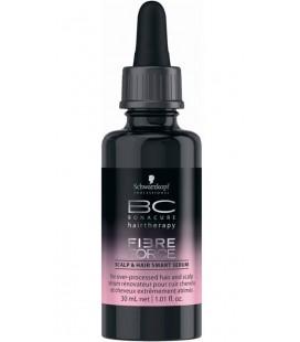 Укрепляющая сыворотка для кожи головы и волос BC Fibre Force Scalp&Hair Smart Serum 30 мл