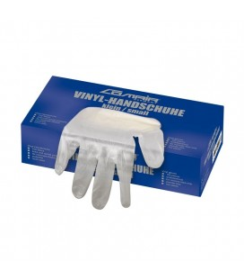 3012334 Перчатки маленькие виниловые без пудры Comair Salon (100 шт)