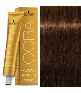 Краска для седых волос 7-40 Igora Royal Absolutes Средне-Русый Бежевый Натуральный 60 мл