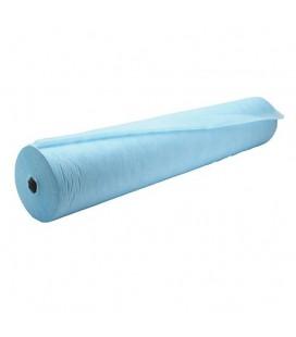 Одноразовые простыни Etto 0.8х100 м (голубые)