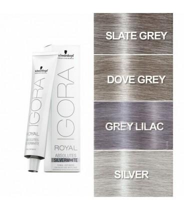 Тонирующий краситель для волос Серебро Igora Royal Absolutes Silver 60 мл