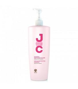 """Шампунь для окрашенных волос с маслом сладкого миндаляи абрикоса """"Стойкость цвета"""" Barex Joc Color Line 1000 мл"""