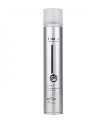 Лак для волос экстрасильной фиксации Londa Professional Lock It 500 мл