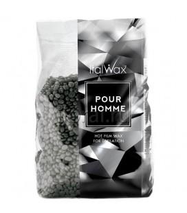 Горячий пленочный воск в гранулах для мужчин ItalWax 1 кг