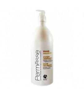 Шампунь для осветленных волос с экстрактом янтаря и корня полимнии Barex Permesse 1000 мл