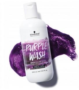 Пигментированный шампунь Schwarzkopf Bold Color Wash Purple (фиолетовый) 300 мл