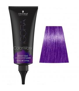 Краска для волос прямого действия Schwarzkopf Igora Color Worx (фиолетовый) 100 мл