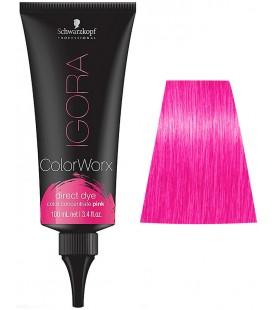 Краска для волос прямого действия Schwarzkopf Igora Color Worx (розовый) 100 мл