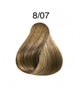 Интенсивное тонирование 8/07 Londa Professional Extra-Coverage Средний блондин натур. корич. 60 мл