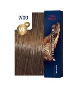 Краска для волос 7/00 Wella Koleston ME+ Натуральный средний блондин 60 мл