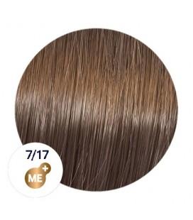 Краска для волос 7/17 Wella Koleston ME+ Средний блондин пепельно-коричневый 60 мл