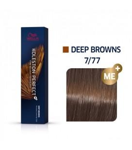 Краска для волос 7/77 Wella Koleston ME+ Капучино 60 мл