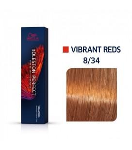 Краска для волос 8/34 Wella Koleston ME+ Светлый блондин золотисто-оранжевый 60 мл