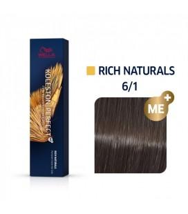 Краска для волос 6/1 Wella Koleston ME+ Темный блондин пепельный 60 мл