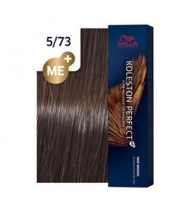 Краска для волос 5/73 Wella Koleston ME+ Светло-коричневый коричнево-золотистый 60 мл