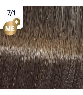 Краска для волос 7/1 Wella Koleston ME+ Средний блондин пепельный 60 мл