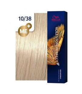 Краска для волос 10/38 Wella Koleston ME+ Яркий блондин золотой жемчуг 60 мл